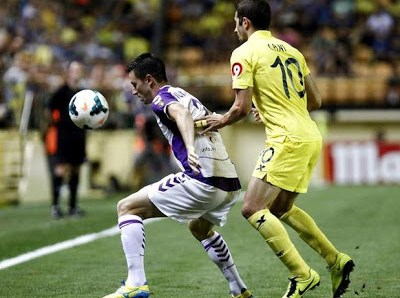 villarreal  vs valladolid 2013