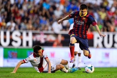 Rayo Vallecano vs. Barcelona 2013