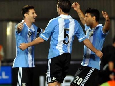 Paraguay vs Argentina 2013