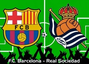 Barcelona vs. Real Sociedad 2013