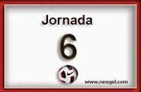 Partidos Jornada 6 Liga  Española BBVA 2013