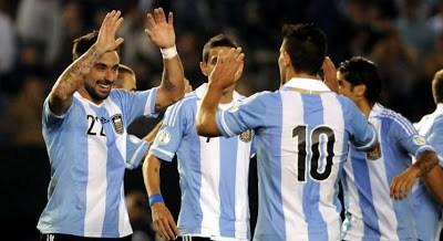 Argentina vs. Perú 2013