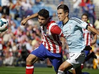 Atletico Madrid vs. Celta de Vigo 2013
