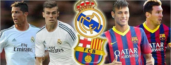 Ronaldo, Bale, Neymar y Messi 2013