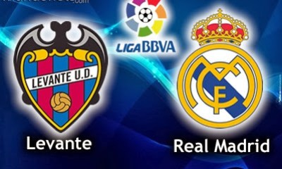 Levante vs. Real Madrid 2013