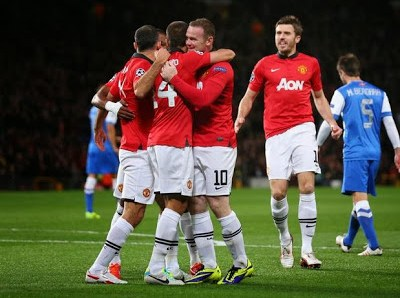 Manchester United vs. Real Sociedad 2013