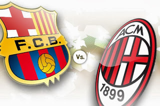 Barcelona vs. Milan Campions League 2013