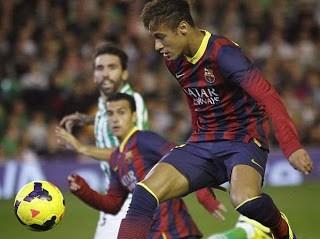 Betis vs. Barcelona 2013