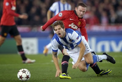 Real Sociedad vs. Manchester United 2013