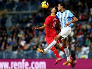 Málaga vs. Getafe 2013