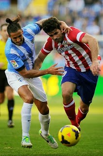 Málaga vs. Atlético Madrid 2014