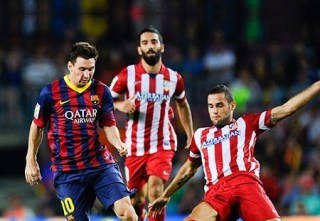 Atlético Madrid vs. barcelona 2014