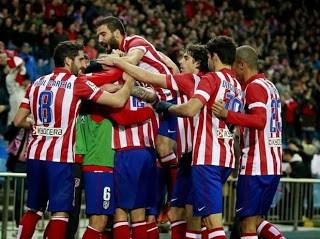 Atlético Madrid vs. Valencia copa del rey 2014