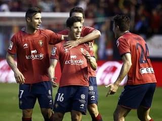 Osasuna vs. Espanyol 2014