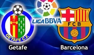 Getafe vs. Barcelona copa del rey 2014