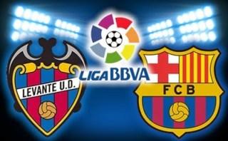 Levante vs. Barcelona 2014 copa rey