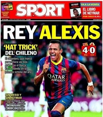 Portada Sport 6/1/2014