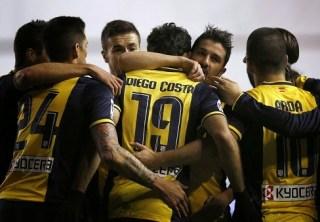 Rayo vallecano Atlético madrid 2014