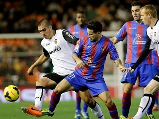 Valencia vs. Levante 2014