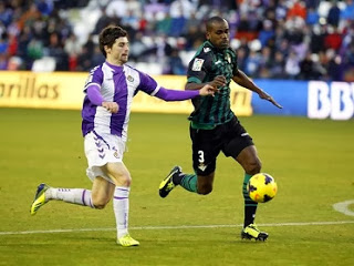Valladolid vs. Betis 2014