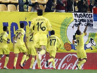Villarreal vs. Real Sociedad 2014