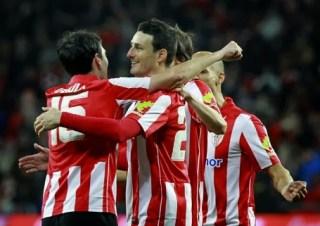 Athletic Bilbao 4-Granada 0. Jornada 26 Liga Española