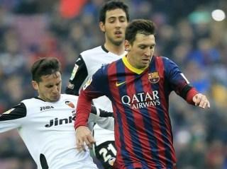 Barcelona vs. Valencia 2014