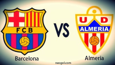 Barcelona vs. Almería