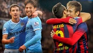 Manchester City vs. Barcelona octavos champions