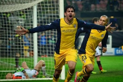Milan vs. Atlético Madrid 2014 champions