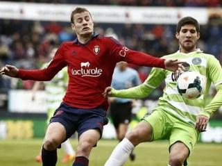 Osasuna vs. Getafe 2014