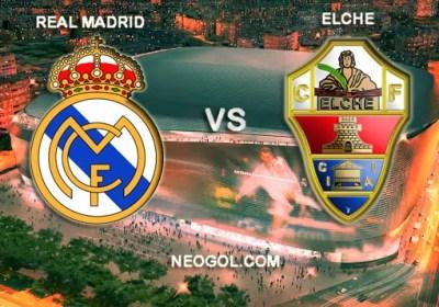 Real Madrid vs. Elche 2014