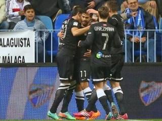 Real Sociedad vs. Málaga 2014