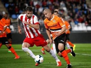 Almería 2-Valencia 2. Jornada 30 Liga Española