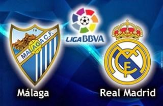 Alineación y la previa Málaga-Real Madrid-Levante. Jornada 28