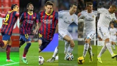 Real Madrid vs. barcelona 2014