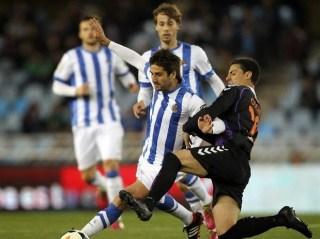 Real Sociedad 1-Valladolid 0. Jornada 30 Liga Española