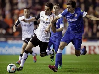 Valencia 1-Athletic Bilbao 1. Jornada 27 Liga Española
