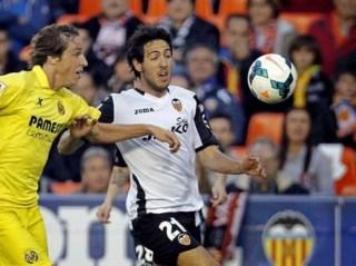 Valencia 2-Villarreal 1. Jornada 29 Liga Española