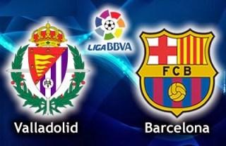 Valladolid vs. Barcelona 2014