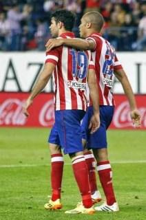 Diego Costa y Miranda atletico madrid elche