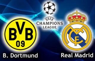 Alineación y la previa Borussia Dortmund-Real Madrid. Cuartos Champions