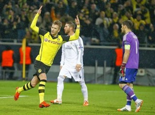 Borussia Dortmund 2-Real Madrid 0. Champions League