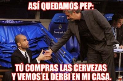 Los mejores chistes y memes del Chelsea-Atlético Madrid. Champions League pep guardiola mourinho