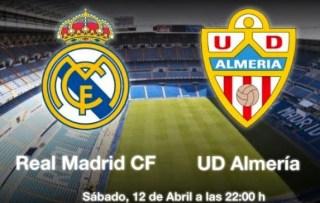 Alineación y la previa Real Madrid-Almería. Jornada 33