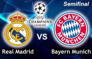 Alineación y la previa Real Madrid-Bayern Munich Semifinales Champions