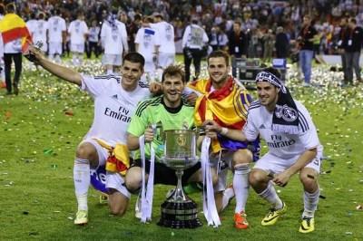 Las imágenes del Real Madrid Campeón Copa del Rey 2014