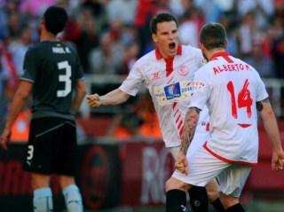 Sevilla 4-Espanyol 1. Jornada 32 Liga Española