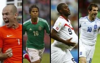 Horarios partidos domingo 29 de junio: Mundial Brasil Holanda-México, Costa Rica-Grecia. Octavos de final