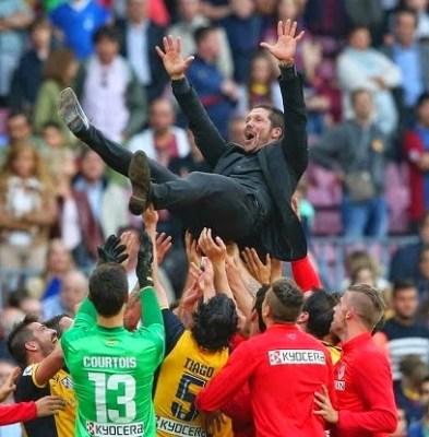 Las imágenes del Atlético Madrid Campeón 2014